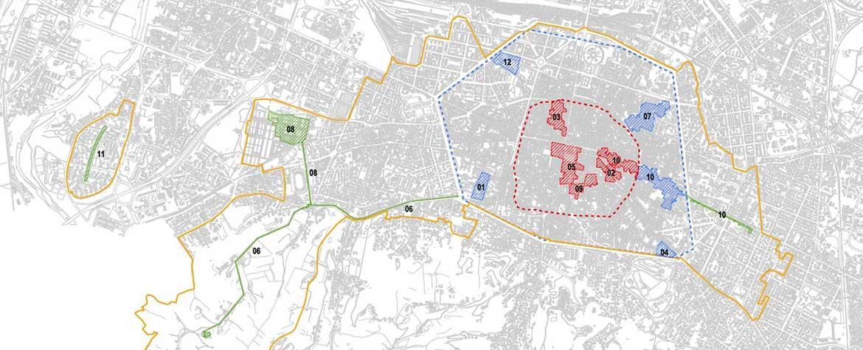Mappa aggiornata delle componenti